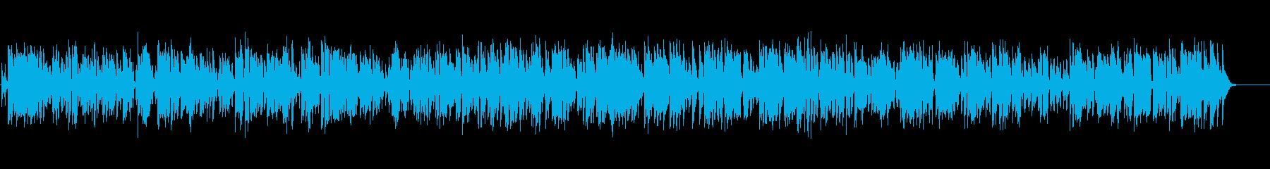 古めかしいクラリネットのオールドジャズの再生済みの波形