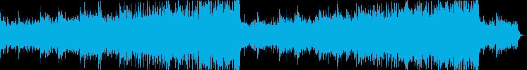 シネマドラマティックエピックトレーラーaの再生済みの波形