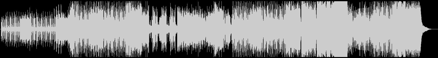アップテンポでかわいいオカリナ曲の未再生の波形