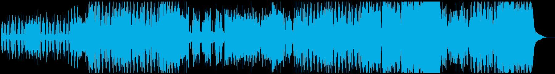 アップテンポでかわいいオカリナ曲の再生済みの波形