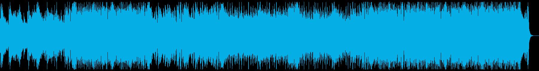 和風・和楽器・忍者ヒーロー:弦楽器抜きの再生済みの波形
