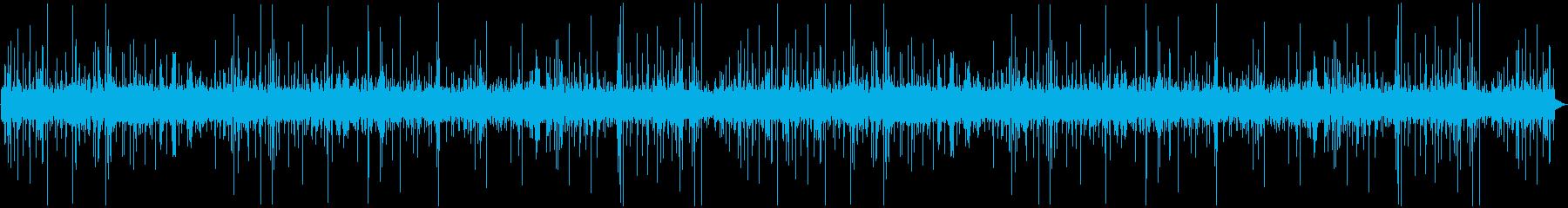 天気 雨04の再生済みの波形