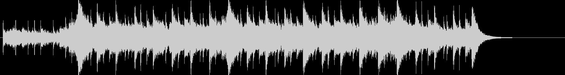 幻想的で壮大なオーケストラOPハーフcの未再生の波形