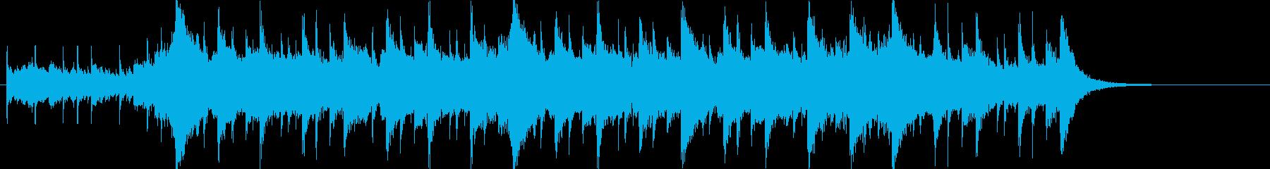 幻想的で壮大なオーケストラOPハーフcの再生済みの波形