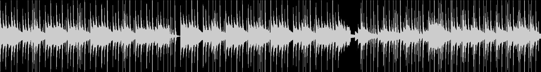 ベルの可愛いBGM(ループ)の未再生の波形
