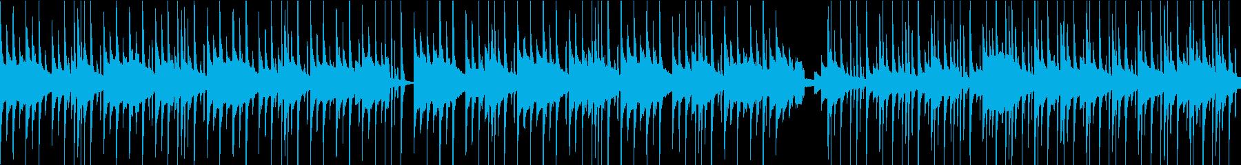 ベルの可愛いBGM(ループ)の再生済みの波形
