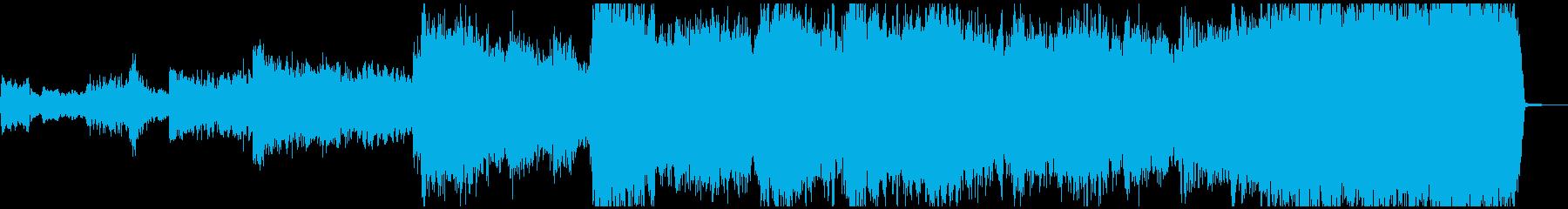 現代的 交響曲 エレクトロ 実験的...の再生済みの波形