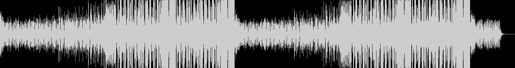 ポップなEDMの未再生の波形
