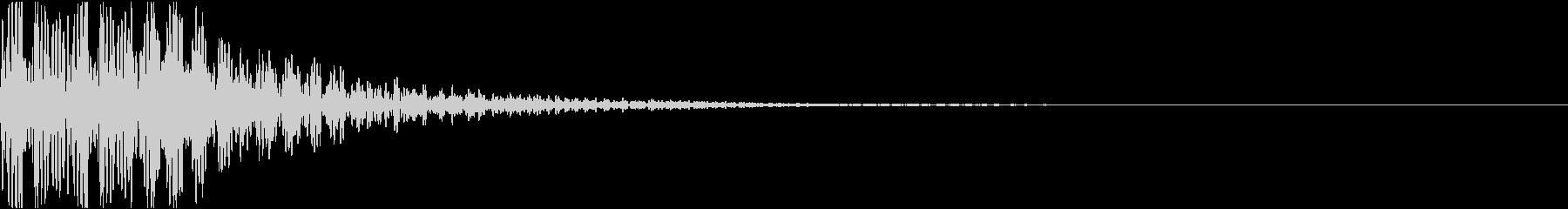 ドドン・和太鼓・桶胴太鼓・祭太鼓の未再生の波形