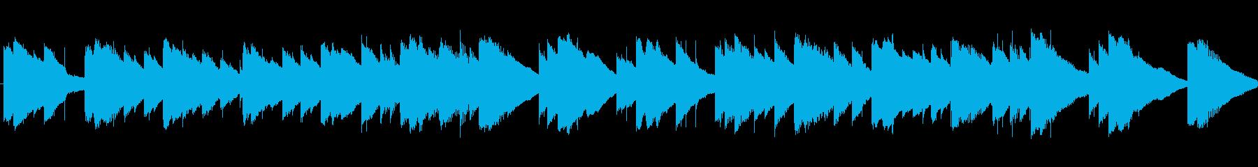 鉄琴が幻想的に鳴ります。の再生済みの波形