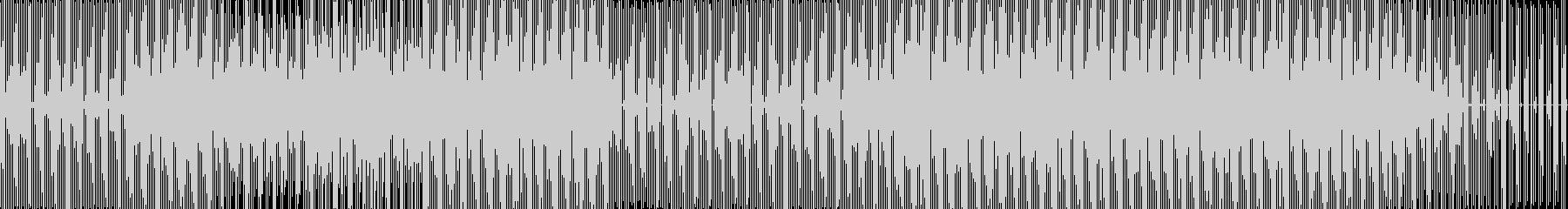 ダンス、テクノ。剥き出しのサウンド...の未再生の波形