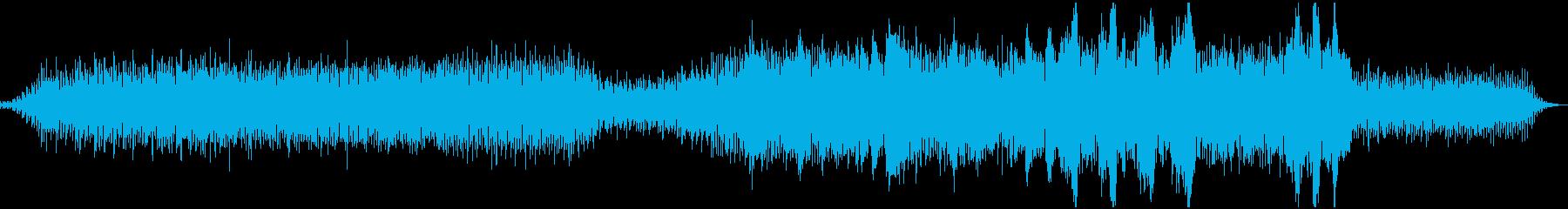 民族音楽・モンゴル・壮大・中盤から展開の再生済みの波形