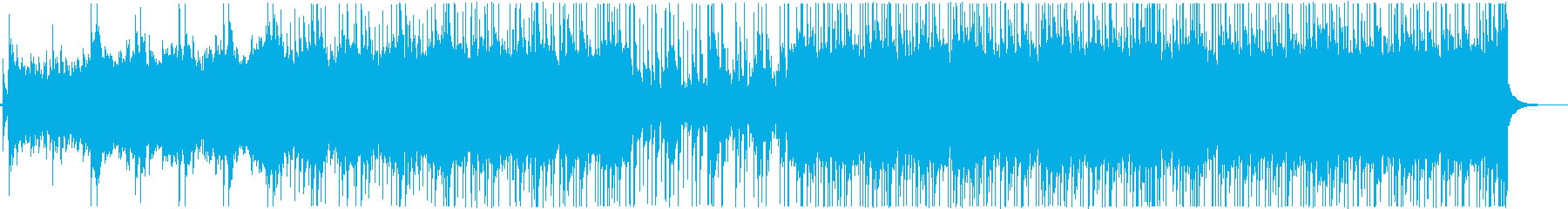 さわやかなアコースティックギター&ピアノの再生済みの波形