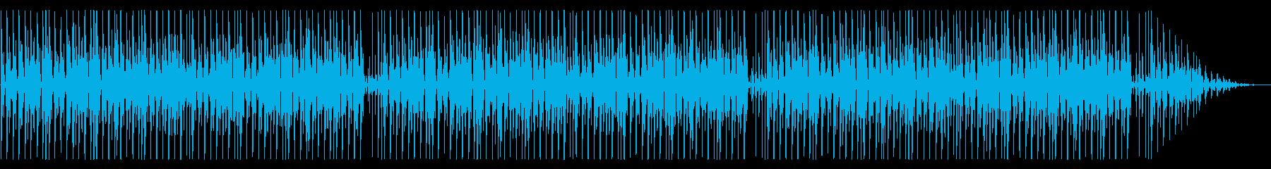ウクレレと鉄琴がかわいい ほのぼのBGMの再生済みの波形