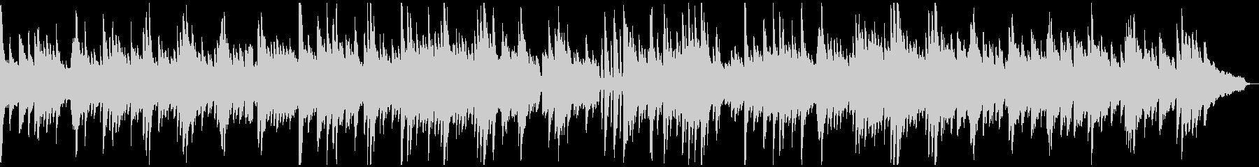 切ないクラシカルなピアノソロの未再生の波形