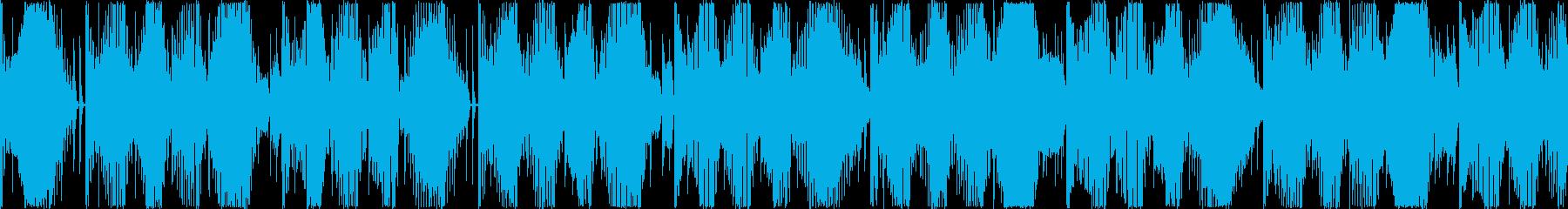 Futurebassサウンドロゴジングルの再生済みの波形