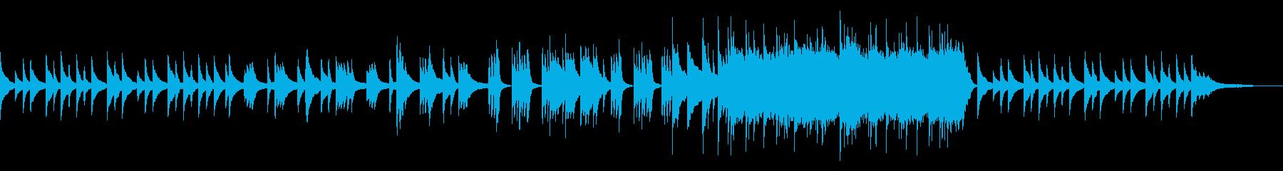 ノベルゲーみたいな悲しいピアノソロの再生済みの波形