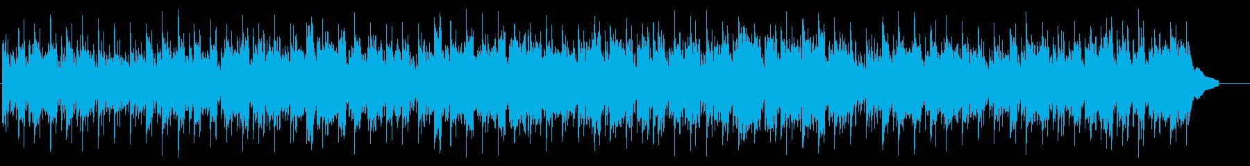 のどかで優しい日常リラックス系BGMの再生済みの波形