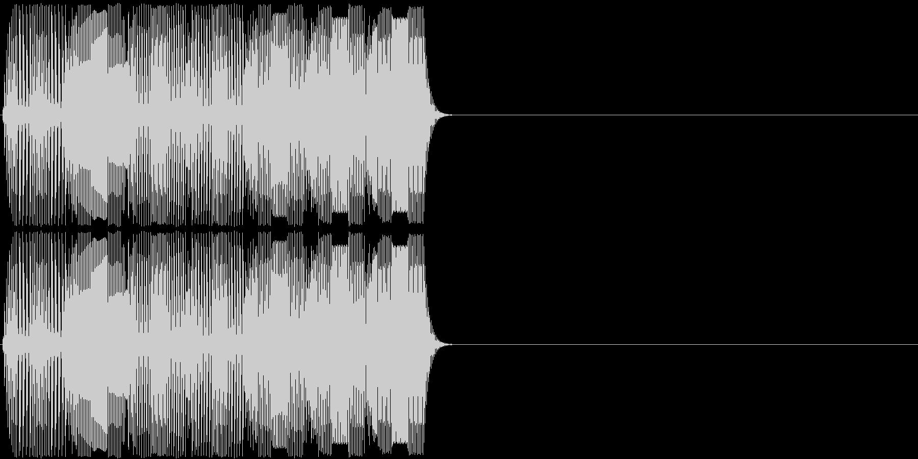 未来的・決定・空気感・取得30の未再生の波形