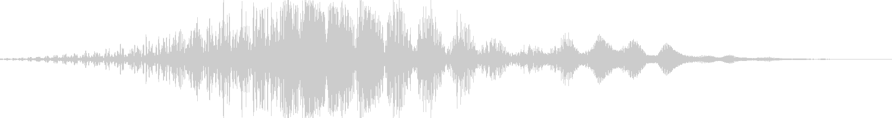 CINEMATIC WHOOSH 06の未再生の波形