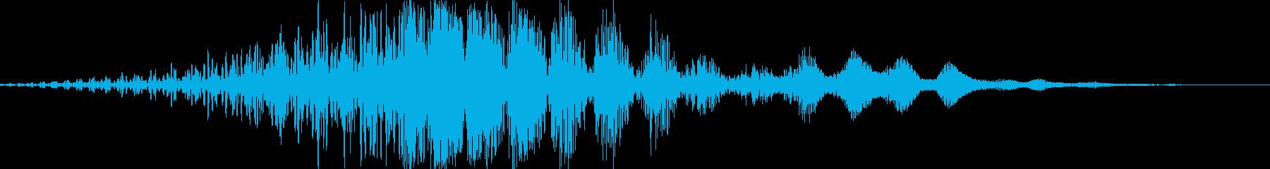 CINEMATIC WHOOSH 06の再生済みの波形