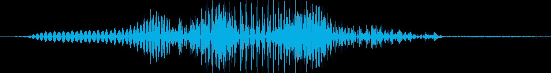 アメリカ人女性「Ya!(ヤッ!)」's reproduced waveform