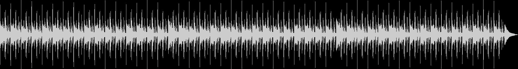 リラックス・ローファイヒップホップの未再生の波形