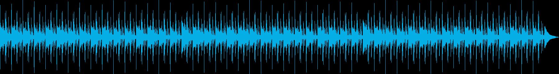 リラックス・ローファイヒップホップの再生済みの波形