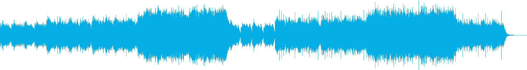ハープと二胡、ストリングス/切ないの再生済みの波形