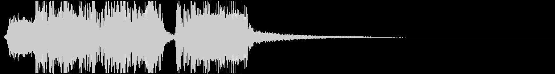 生演奏メタルなアイキャッチ14の未再生の波形