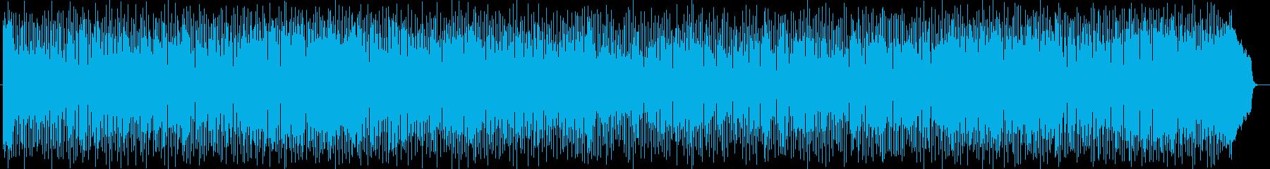 ストリングスの音色のポップスの再生済みの波形