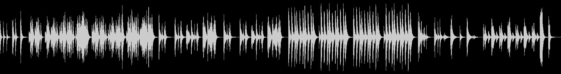 Marimba Lifeの未再生の波形
