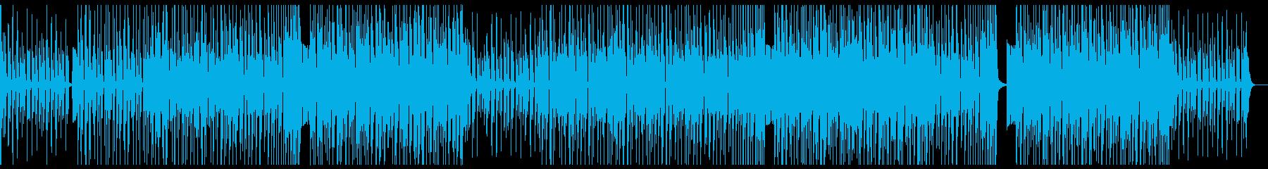 K-POP、洋楽、ヒップホップ aの再生済みの波形