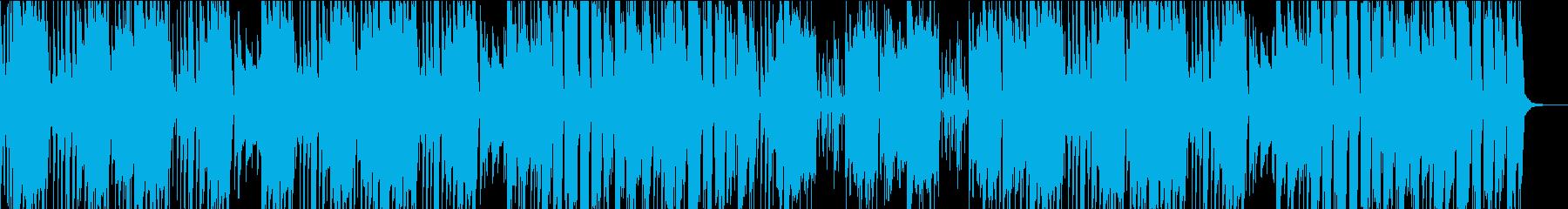 ファンク レトロ お祭り シンセサ...の再生済みの波形