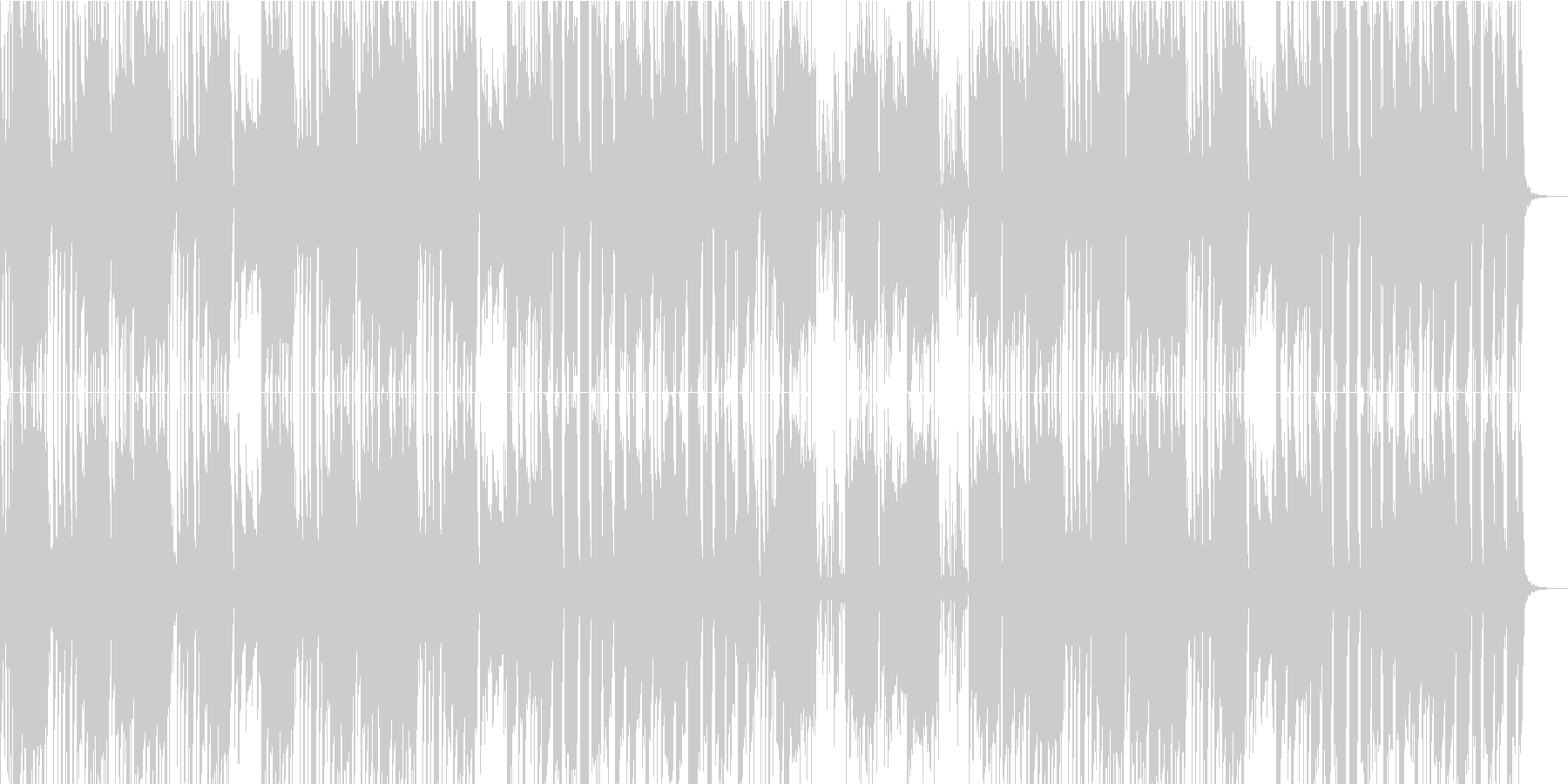 ファンク レトロ お祭り シンセサ...の未再生の波形