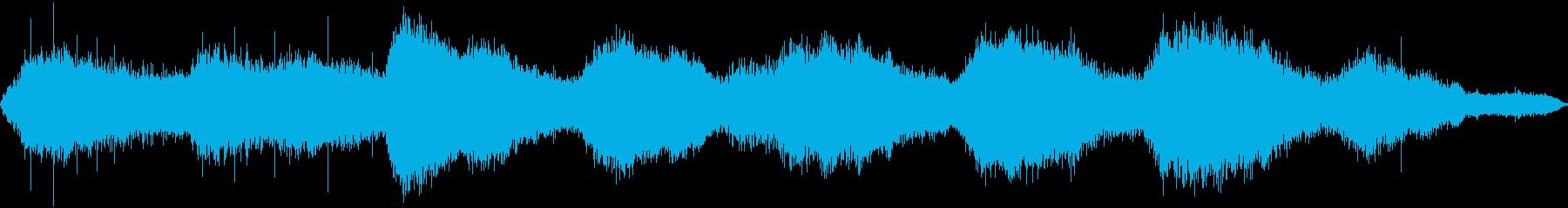 【ホラー】 ワンシーン_異世界の雨の再生済みの波形