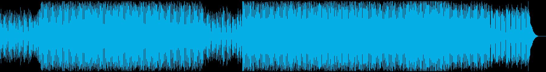 疾走感があって爽やかなEDMの再生済みの波形