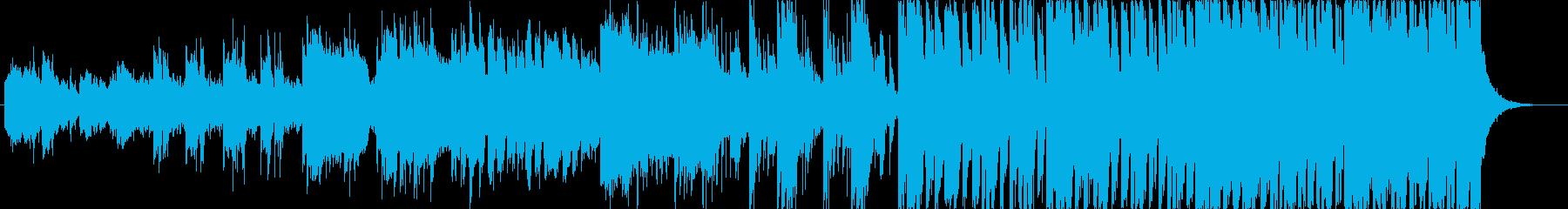 遊び人の曲、和風テイストの再生済みの波形