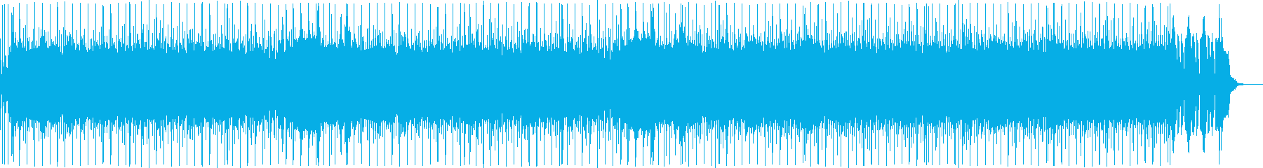 疾走感のあるギター中心のハードロックの再生済みの波形