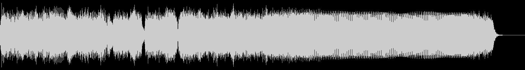 ロック イントロ ジングル3の未再生の波形