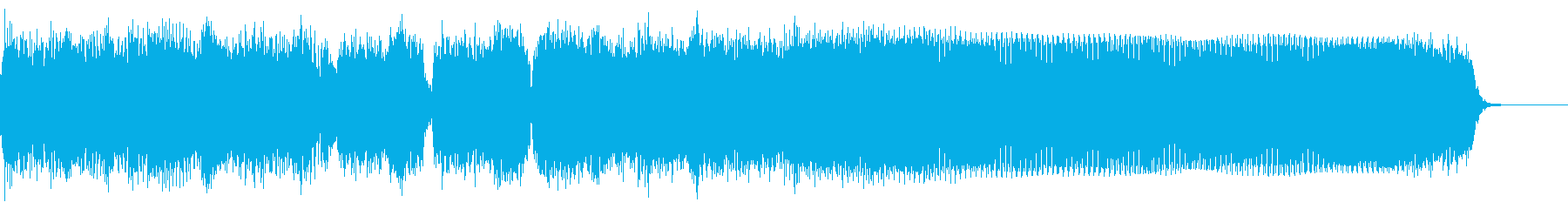 ロック イントロ ジングル3の再生済みの波形