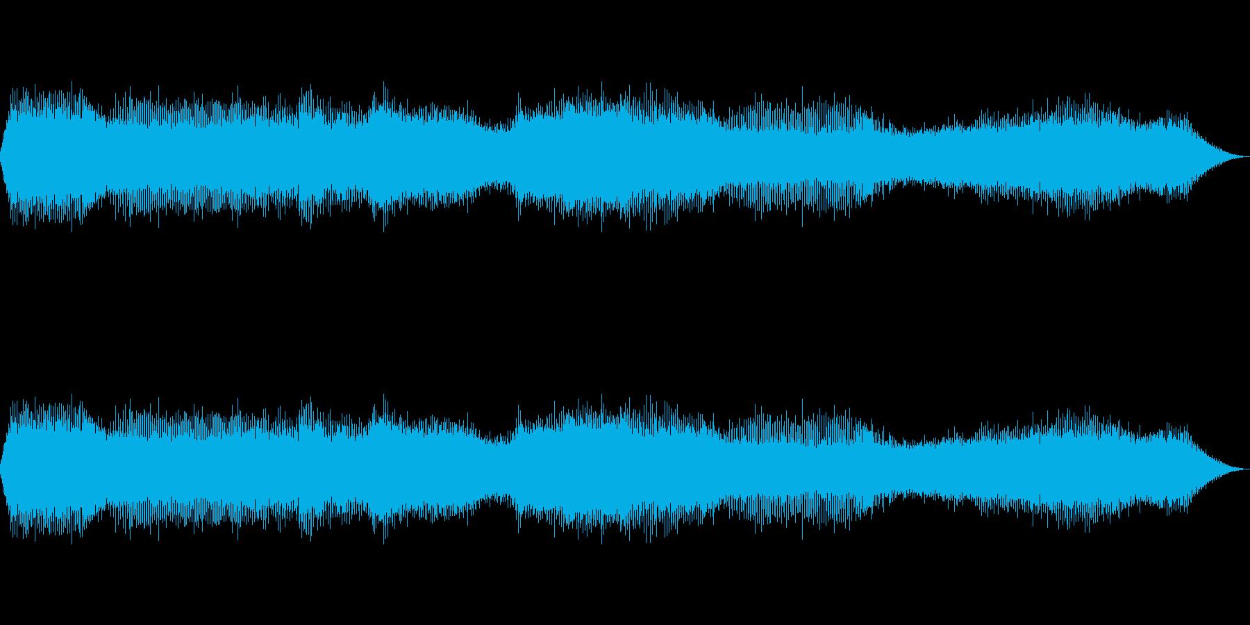 【自然環境音】蝉の大合唱~クマゼミ 熊蟬の再生済みの波形