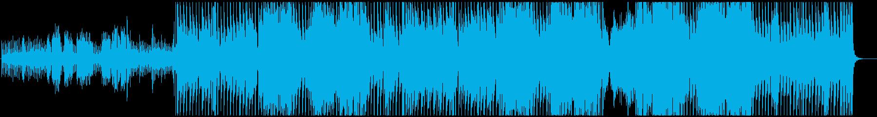 ふわふわキュートなクリスマスソングの再生済みの波形