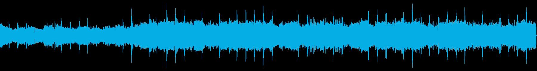コンピューター音の再生済みの波形