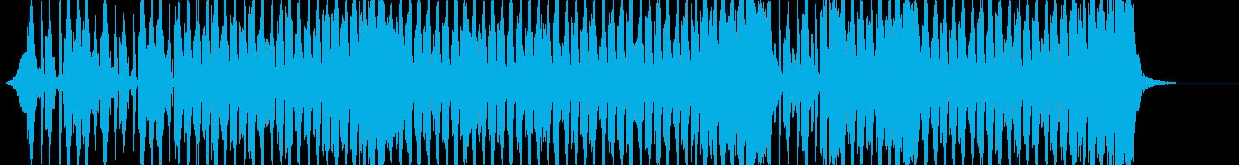 煽りEDM版アイネクライネナハトムジークの再生済みの波形