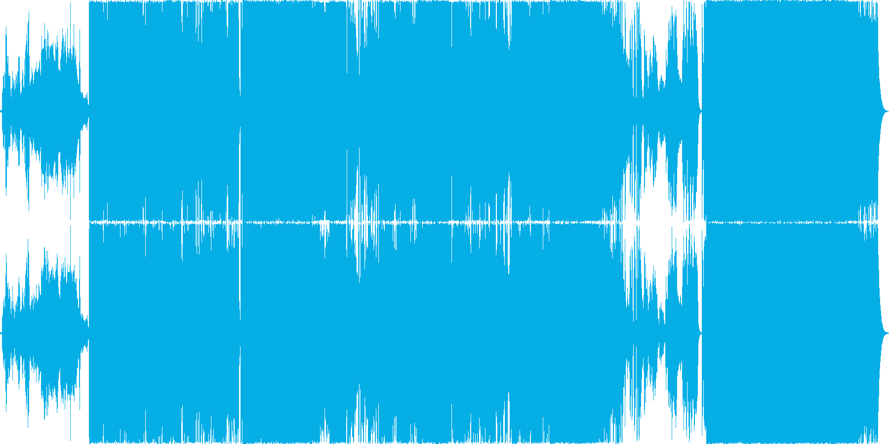 感動的な曲。ロック、ストリングス。の再生済みの波形