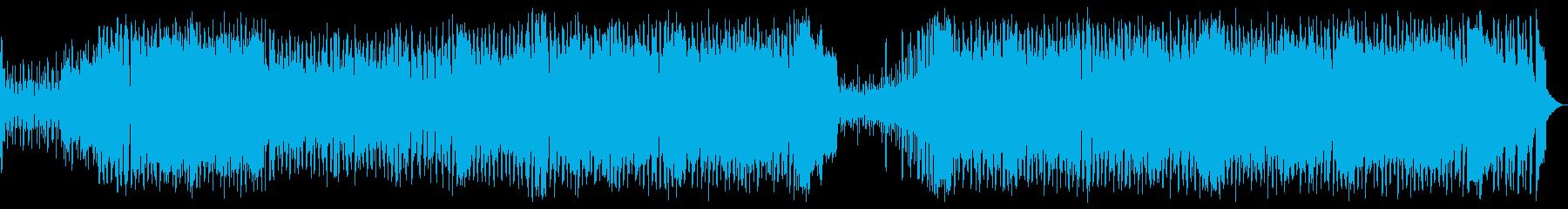 【メロなし】かわいらしく楽しいユーロビーの再生済みの波形