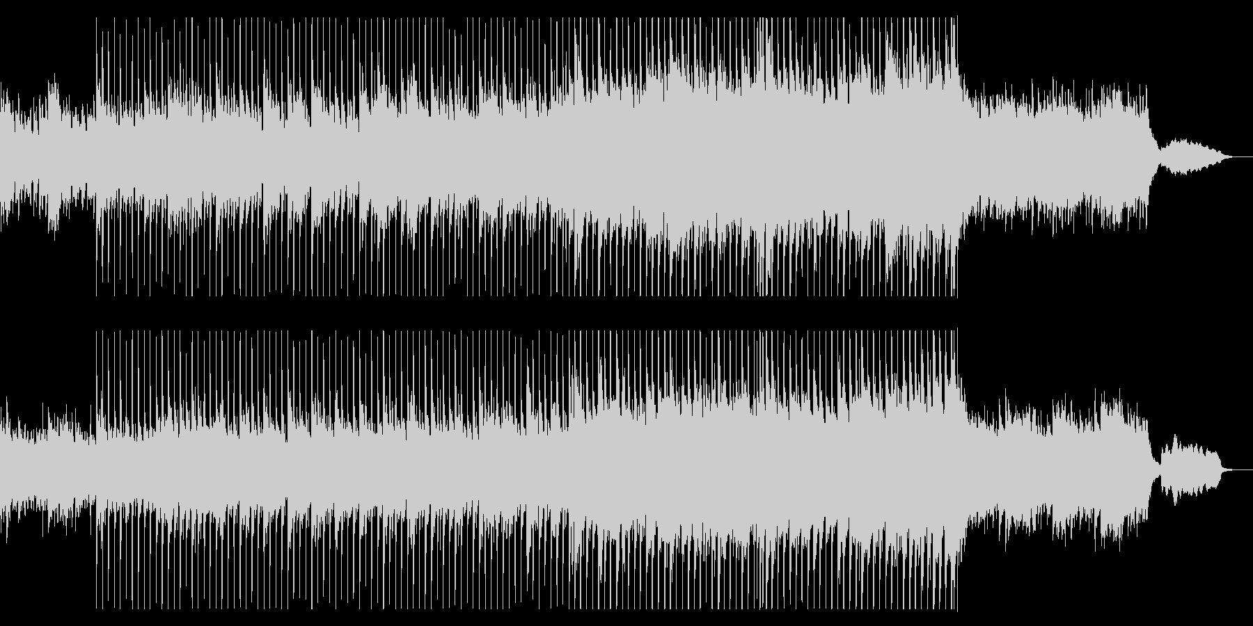 美しく広がりある響きのオーケストラの未再生の波形