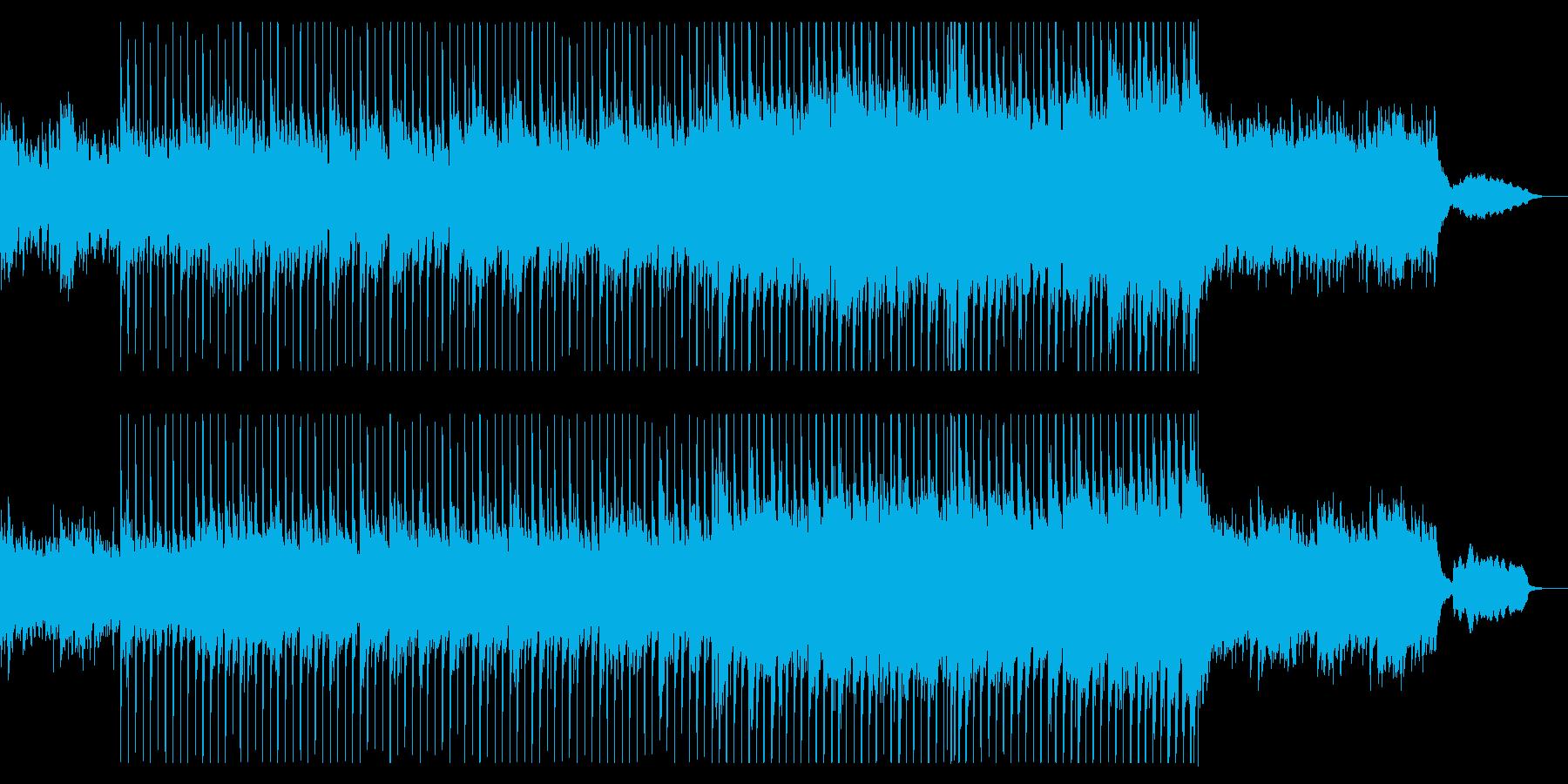美しく広がりある響きのオーケストラの再生済みの波形