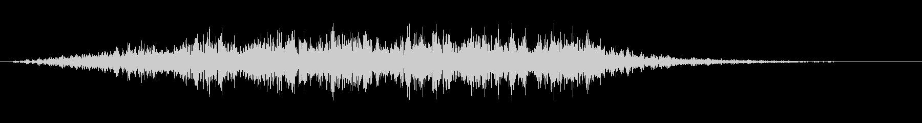 シューッという音EC07_92_1 2の未再生の波形